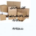 کارتن های استاندارد بسته بندی